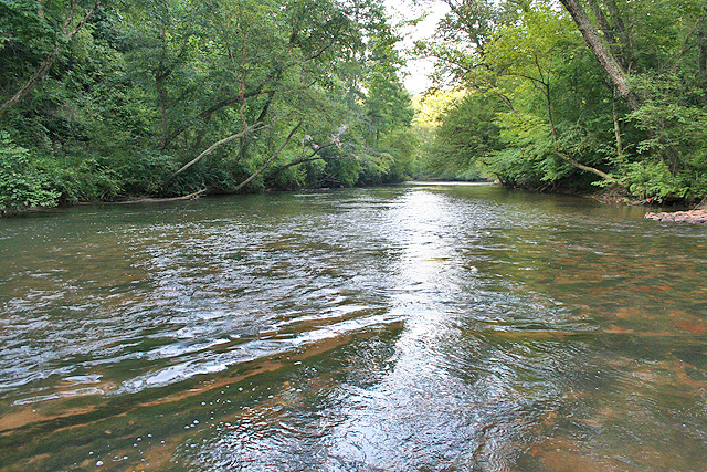 North Georgia river property for sale