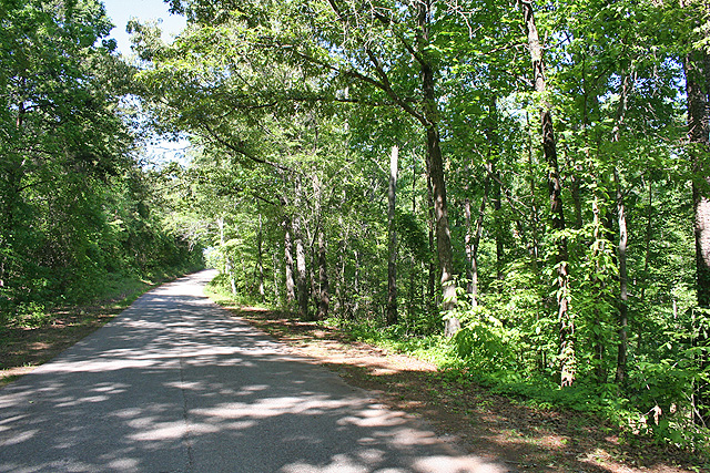Lumpkin County property with paved road frontage